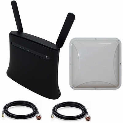 Zte MF283 4g Lte 3g Wi-fi роутер с Антенной MIMO