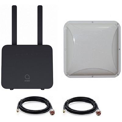 Alcatel Linkhub Hh42cv 4g 3g Wifi роутер под Sim карту с антенной Mimo 14dbi кабель 2х10м